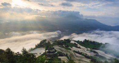 Đẹp đến nao lòng mùa nước đổ ở Hoàng Su Phì