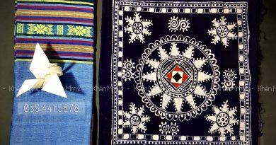 khăn trải bàn thổ cẩm