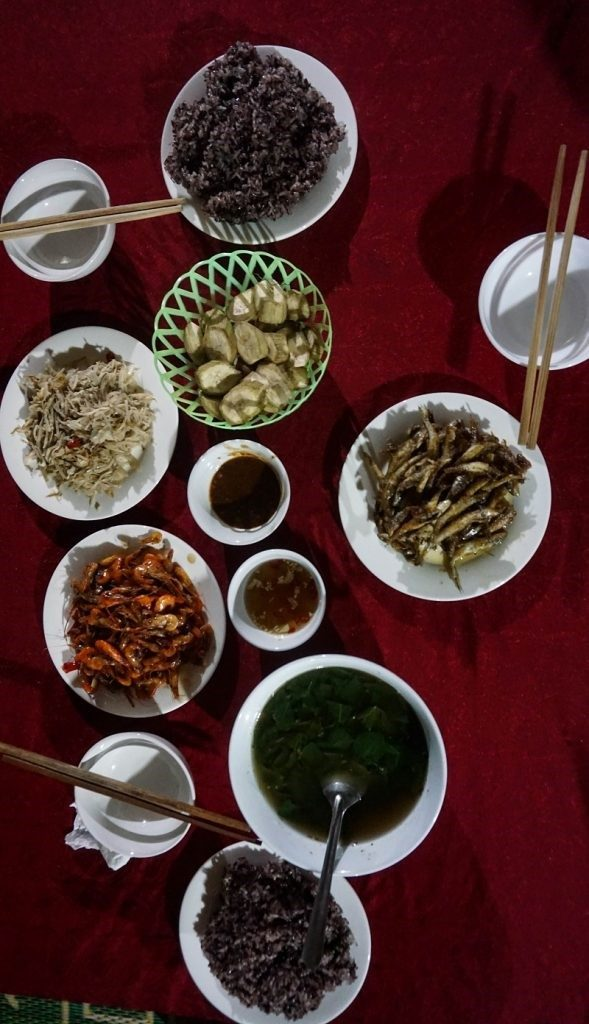 a reginal cuisine of homestay