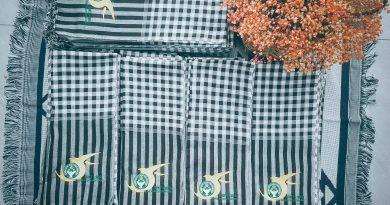 Dịch vụ thêu logo khăn rằn nam bộ